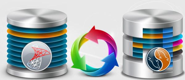 Convert database from mssql to mysql Online