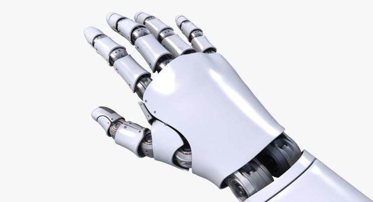 Mano Robotica Arduino sketch