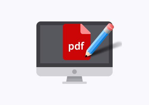 Scrivere su un PDF online