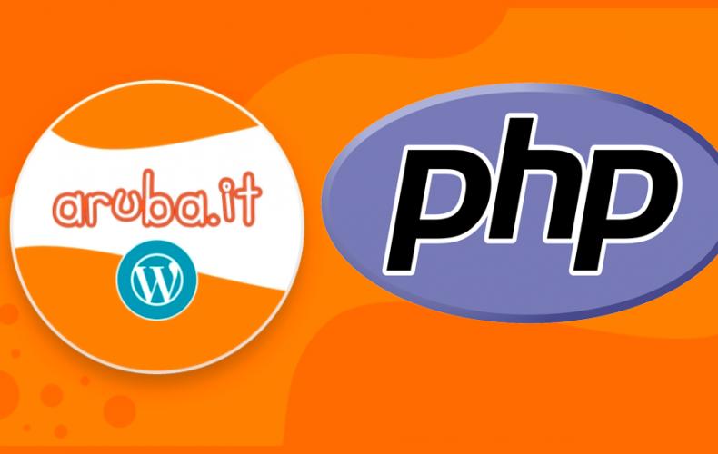 Aggiornamento PHP obbligatorio wordpress aruba