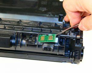 HP Laserjet: problema con i materiali di consumo