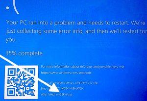 win32kfull.sys: Errore dopo Stampa su Windows 10
